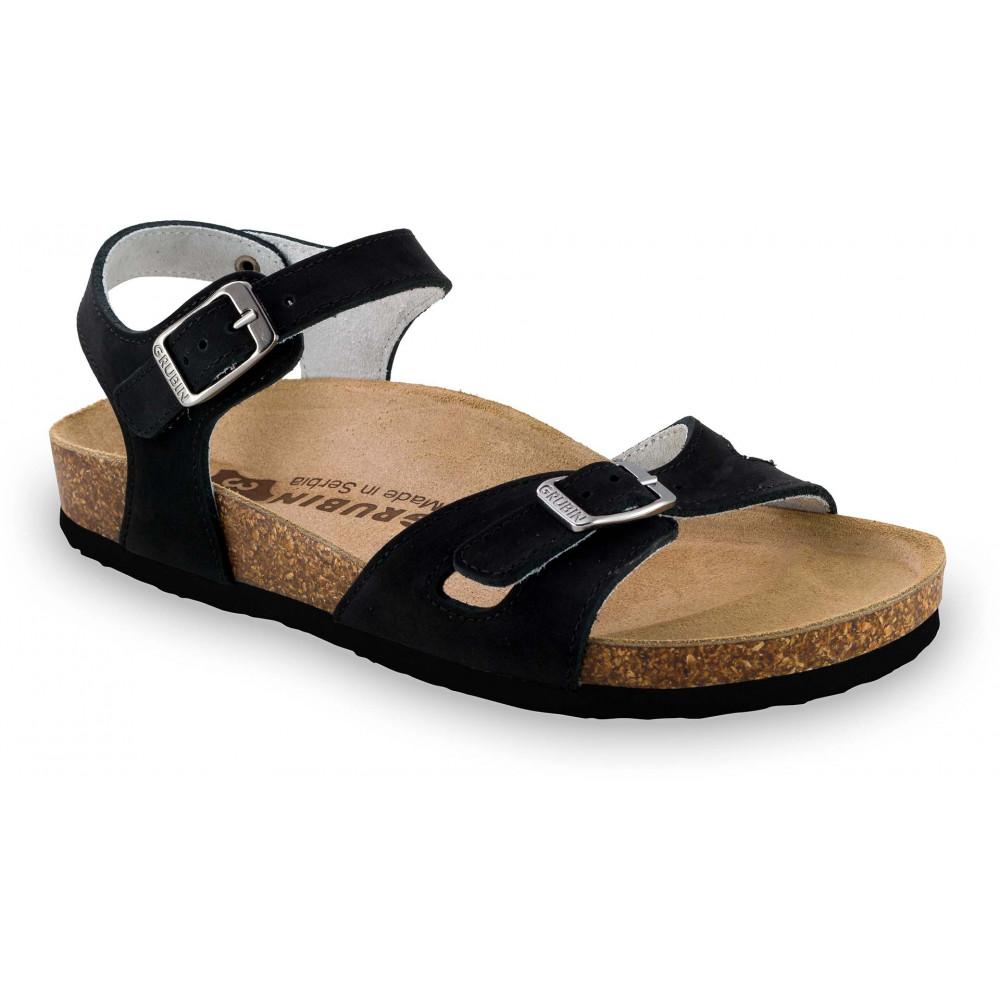 GRUBIN ženske papuče 0113510 RIO Crna