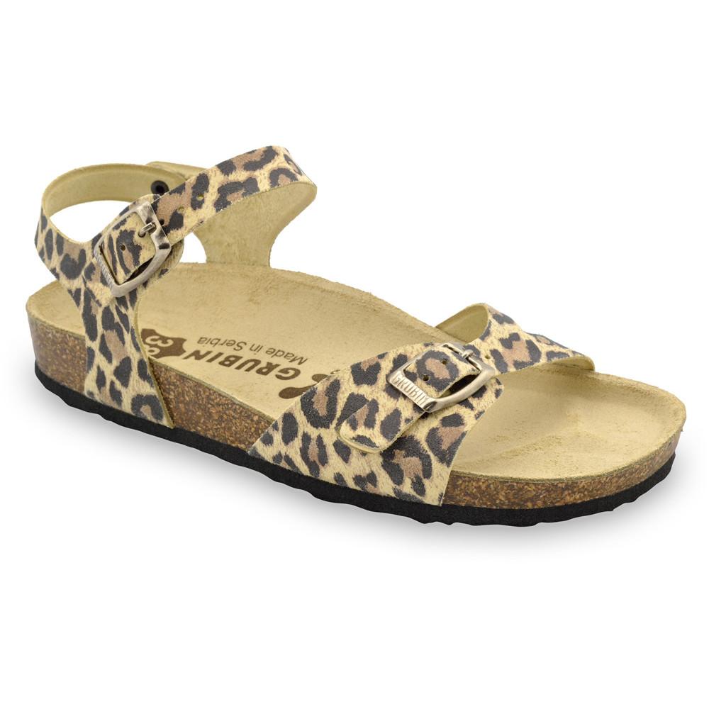 GRUBIN ženske papuče 0113510 RIO Tigar