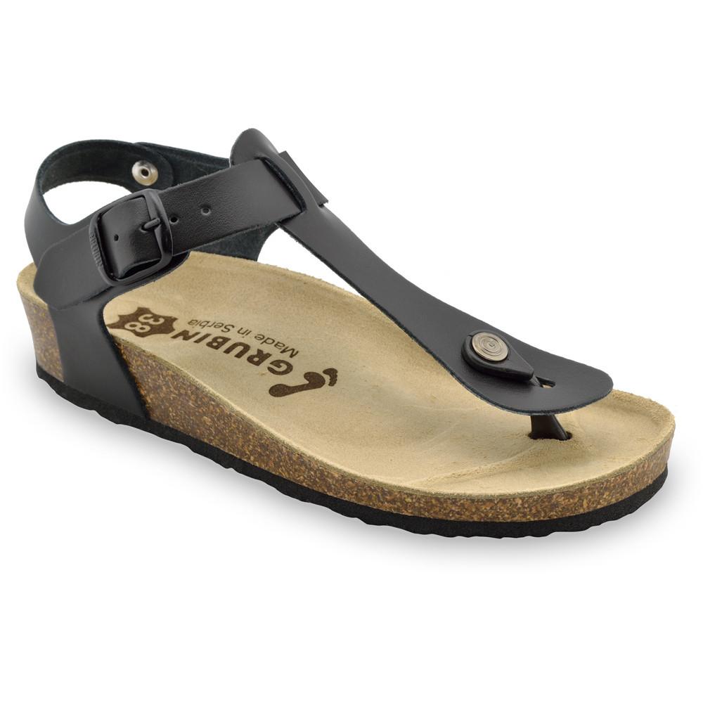 GRUBIN ženske sandale japanke 0953650 TOBAGO Crna