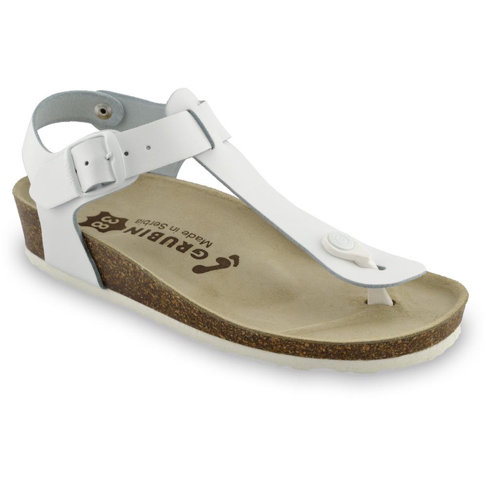 GRUBIN ženske sandale japanke 0953650 TOBAGO Bela