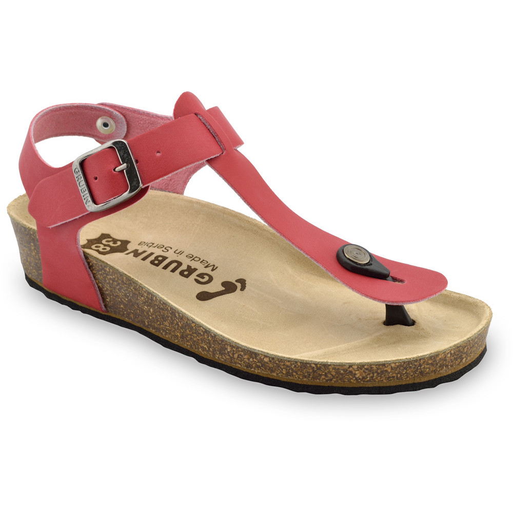 GRUBIN ženske sandale japanke 0953650 TOBAGO Ra Crvena