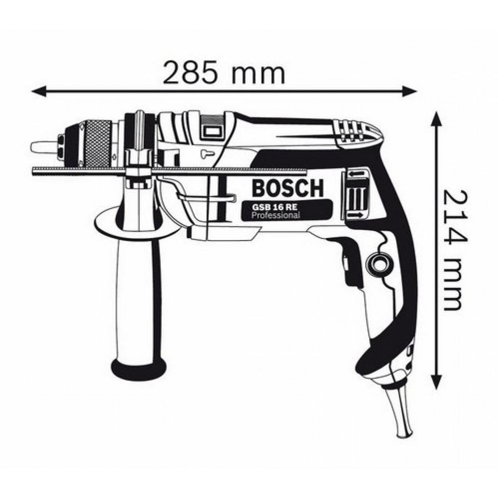 BOSCH vibraciona bušilica GSB 16 RE SSBF 060114E500