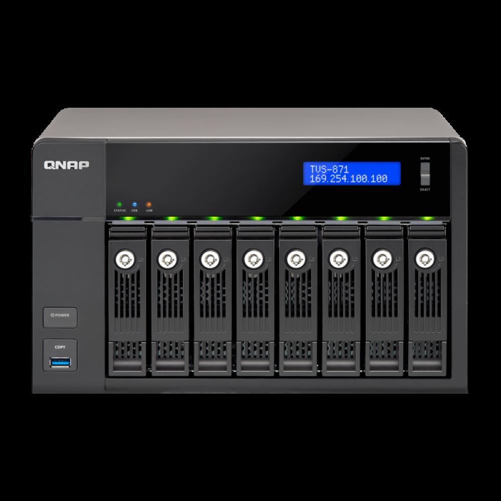 QNAP skladište NAS TVS-871-i3-4G