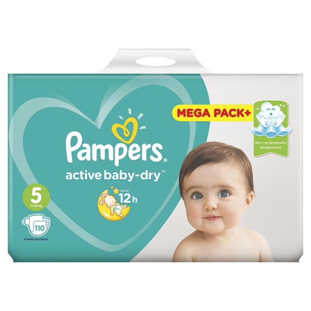 PAMPERS AB MB 5 JUNIOR (110)