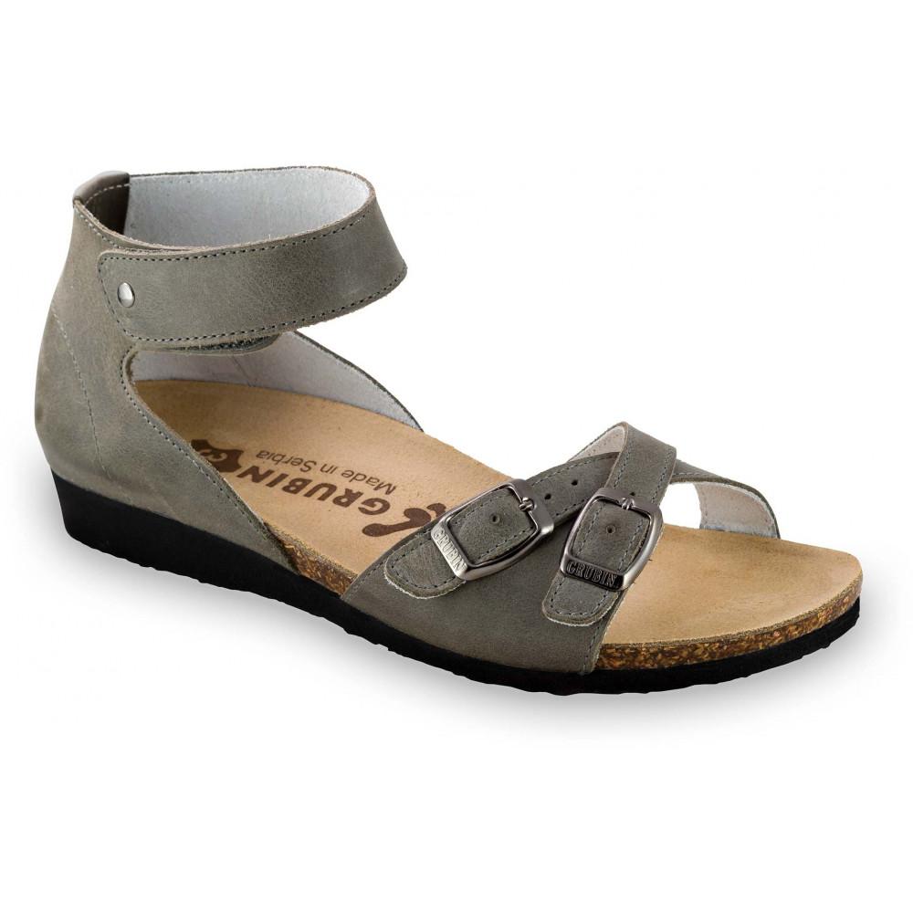 GRUBIN ženske sandale 2103610 NICOLE Sive