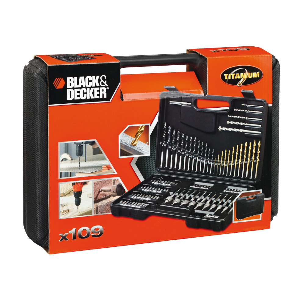 BLACK&DECKER garnitura pribora 109 delova A7200