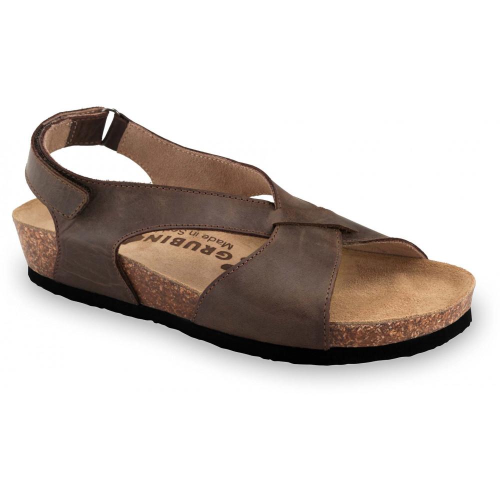 GRUBIN ženske sandale 2753680 ASTANA Braon