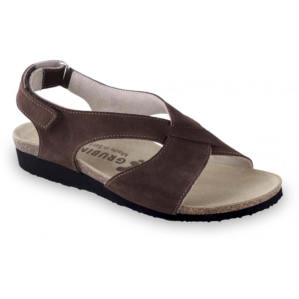 GRUBIN ženske sandale 2763610 MANUELA Braon
