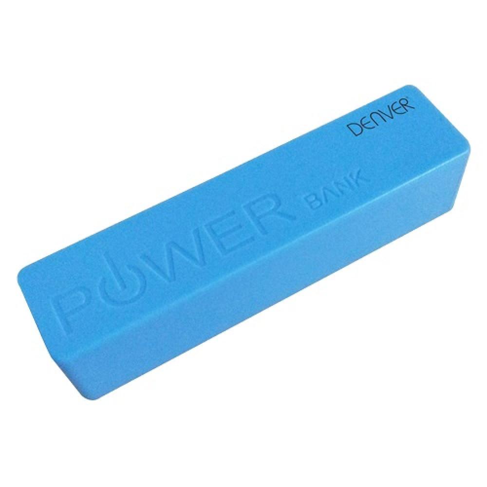 DENVER prenosna baterija PBA 2600/2600 mAh plava
