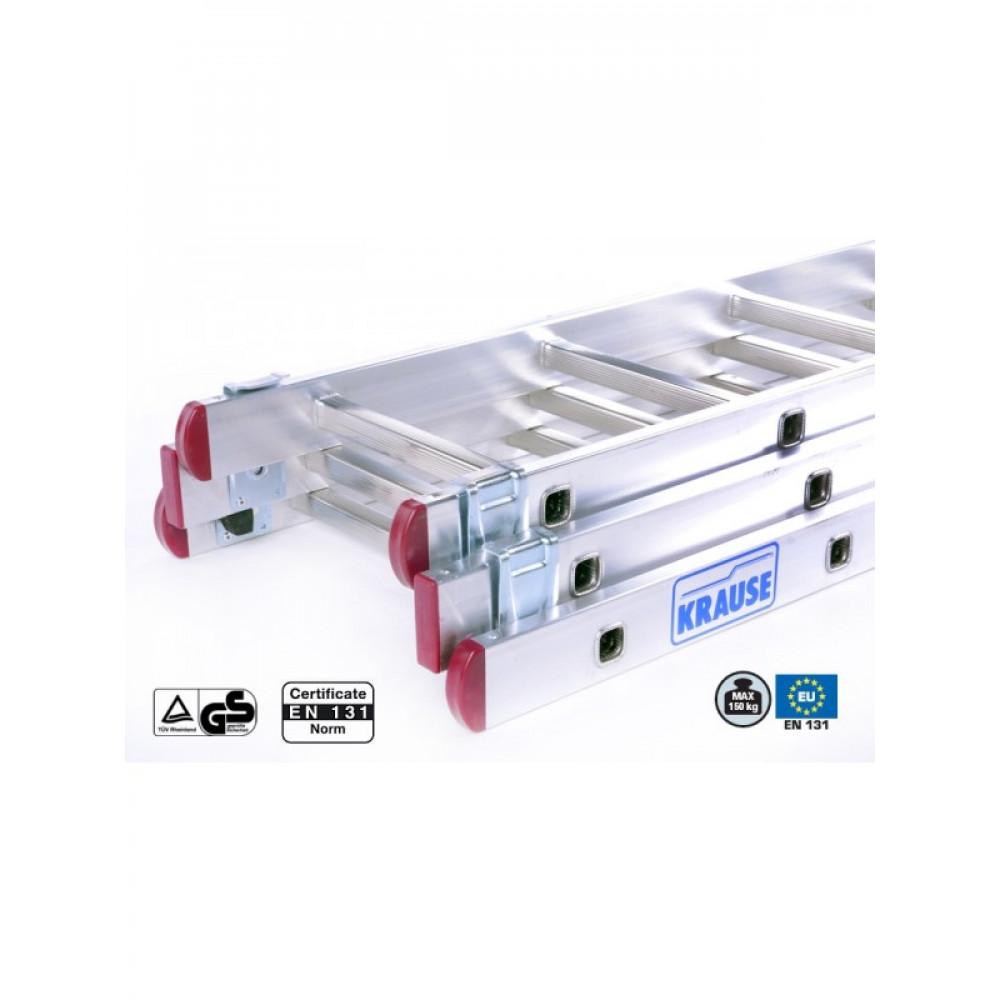 KRAUS merdevine aluminijumske 3x9 Corda 030399
