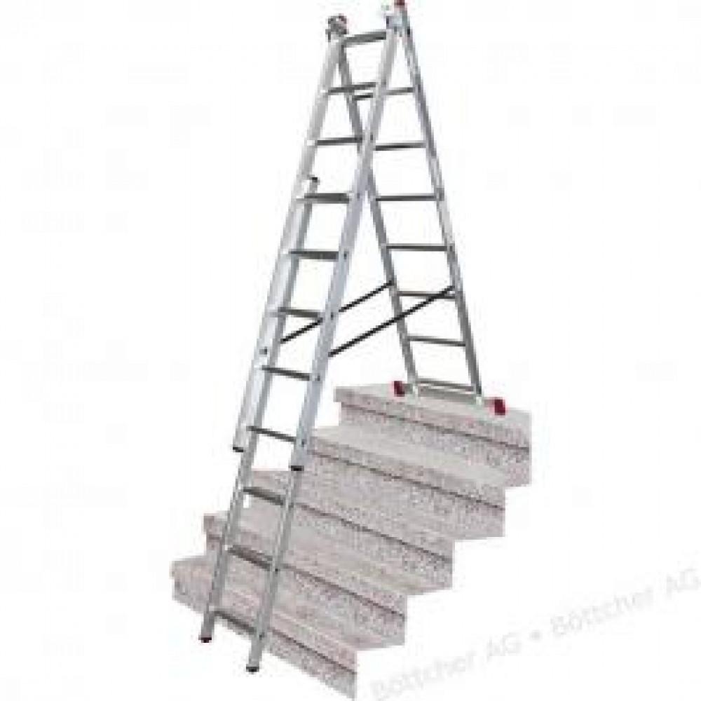 KRAUSE merdevine aluminijumske sa funkcijom stepenika 3x10 Corda 033406