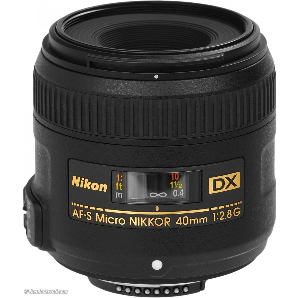NIKON Obj 40mm F2.8G DX AF-S Micro 16819