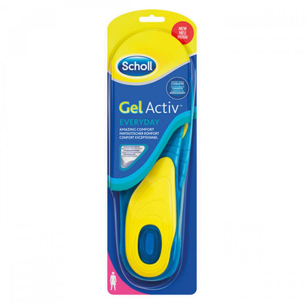 SCHOLL ulošci za obuću za svaki dan Gel Active - 38-42 410237