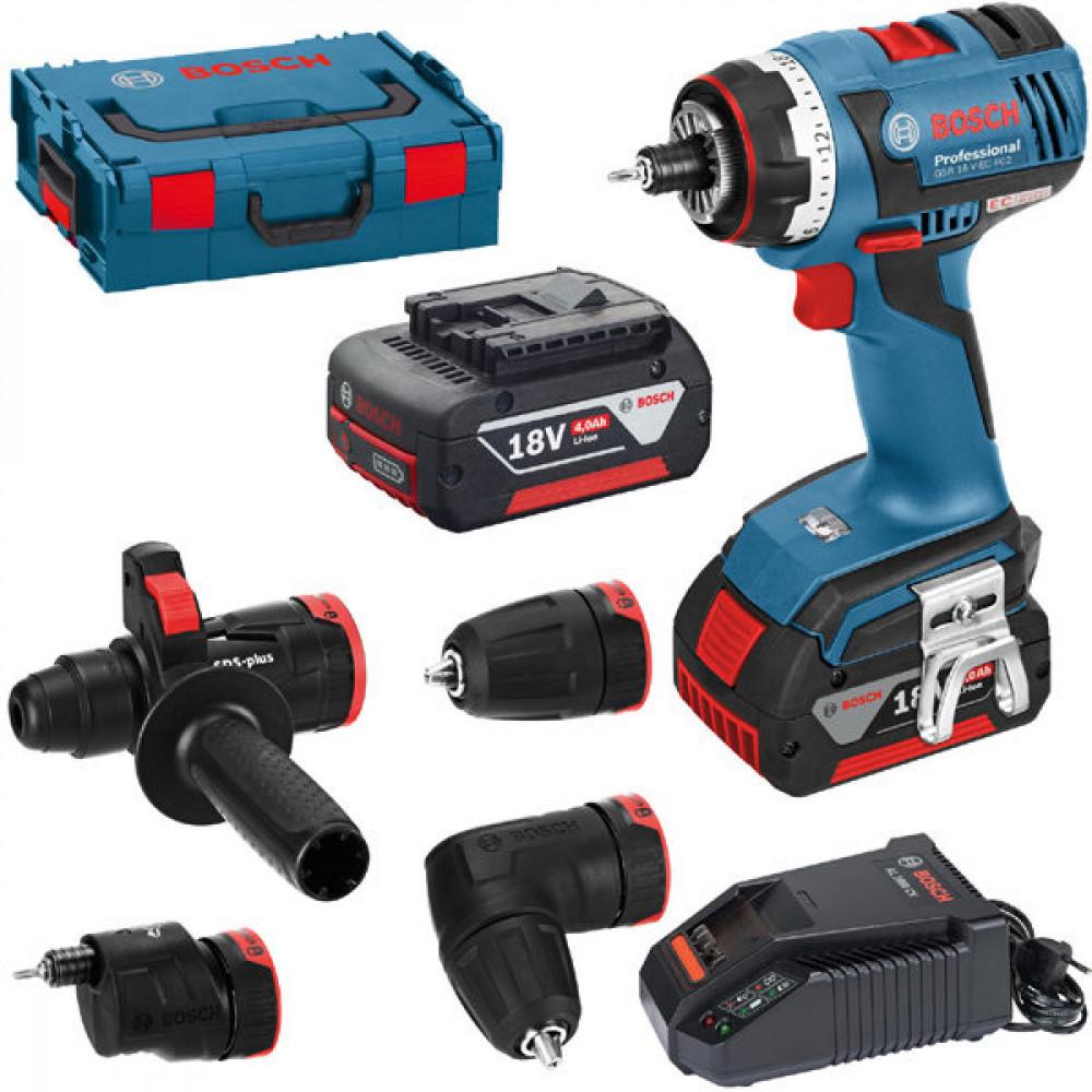 BOSCH akumulatorska bušilica-odvrtač GSR 14,4 V-EC FC2 06019E1000