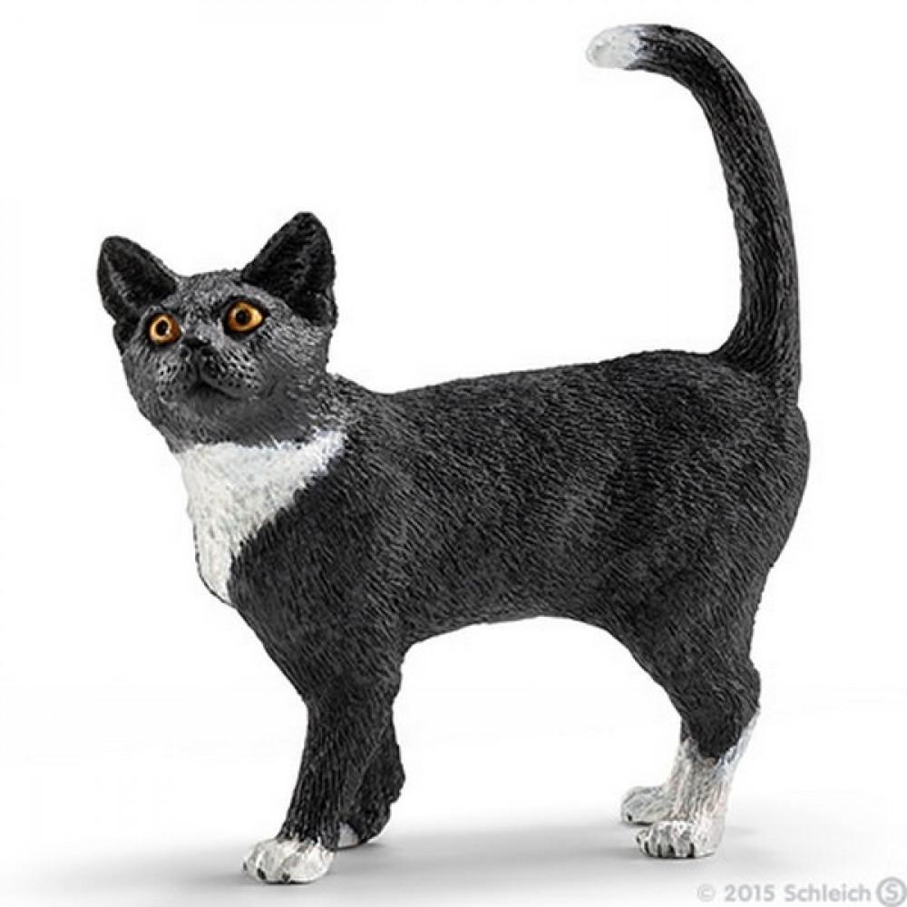 SCHLEICH mačka stoji