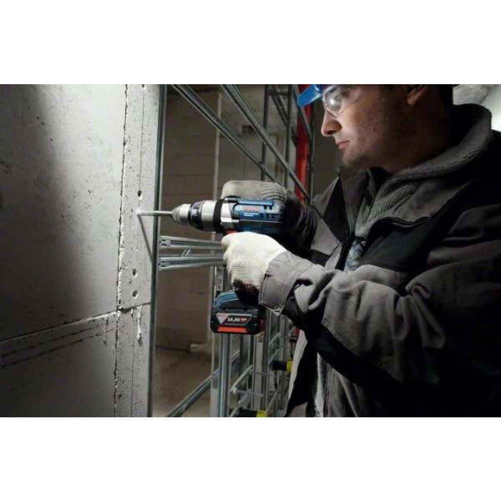 BOSCH akumulatorska bušilica-odvrtač GSB 14,4 VE-2-LI 06019D9200
