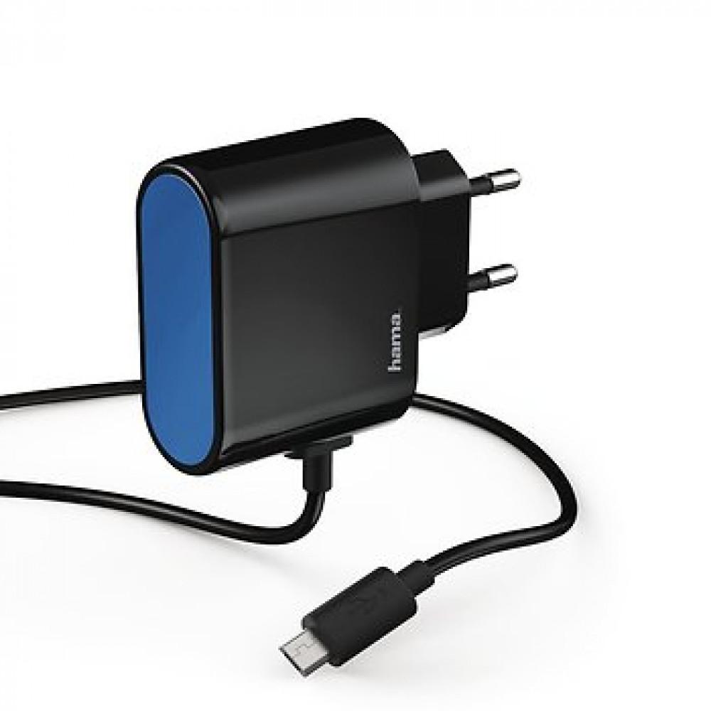 HAMA kućni punjač Micro USB, brzi punjač, 2400 mAh (173600)
