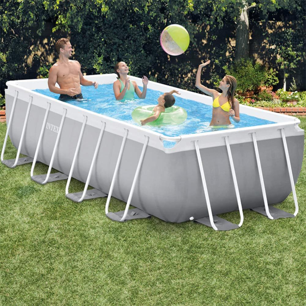 INTEX porodični bazen metalni okvir 4 x 2 x 1 Prism frame Intex 26788