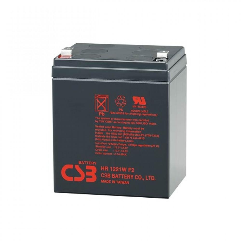 CSB baterija 12V 5Ah HR 1221W (F2)