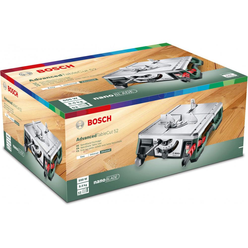 BOSCH Stona testera AdvancedTableCut 52 0603B12000