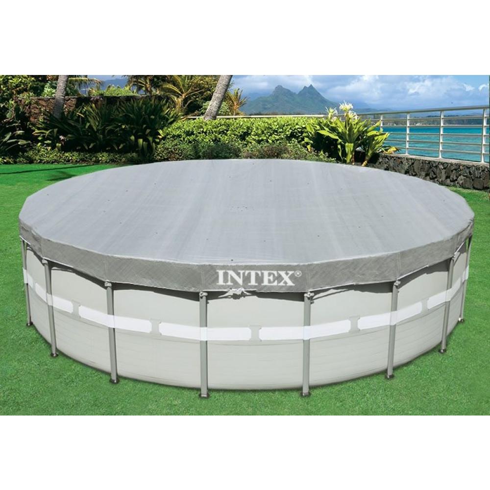 INTEX prekrivka za bazen Prism Frame 5.49m x 1.22m 28041