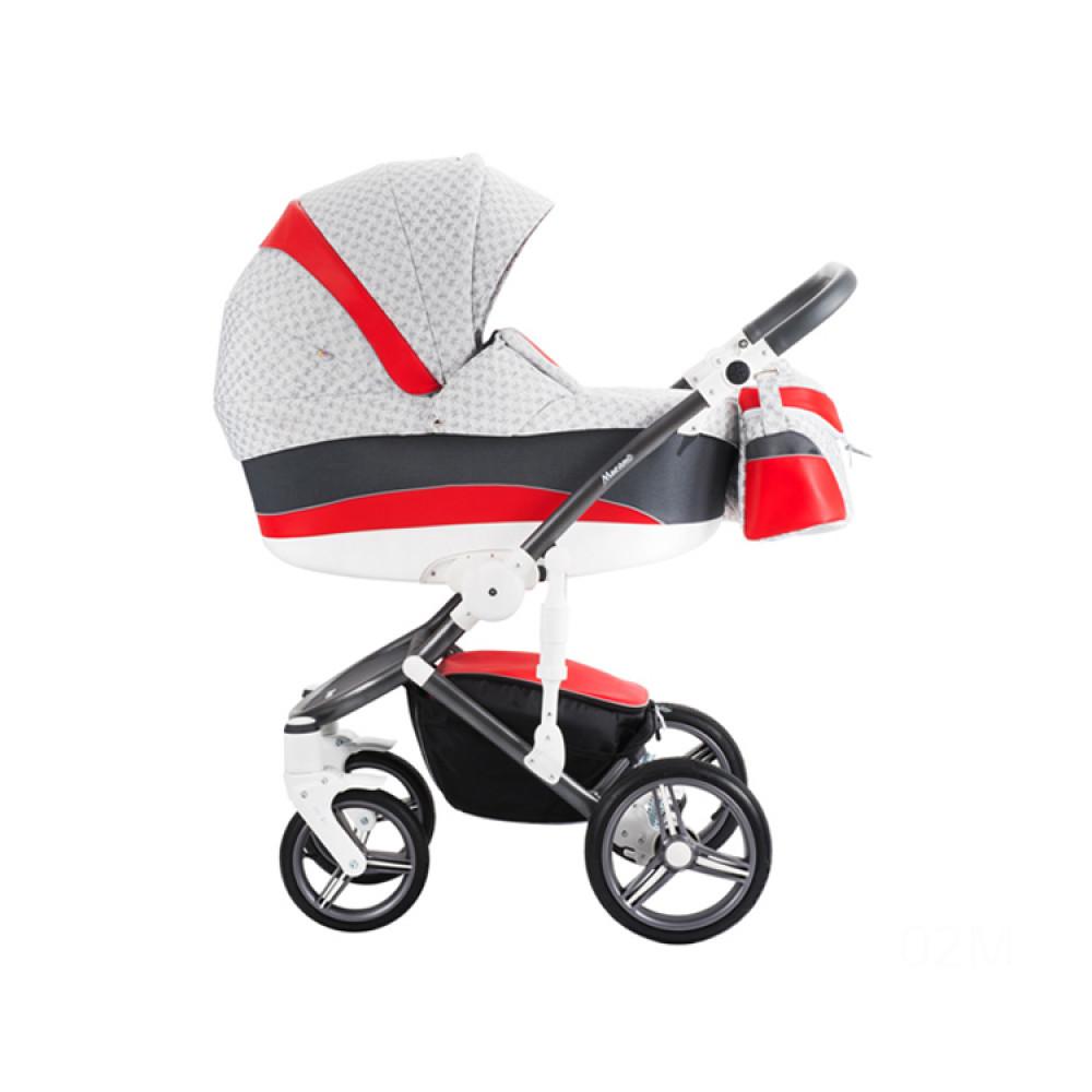 BEBETTO Murano kolica za bebe, set 3u1
