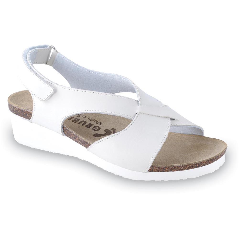 GRUBIN ženske sandale 2763611 MUSCAT Bele