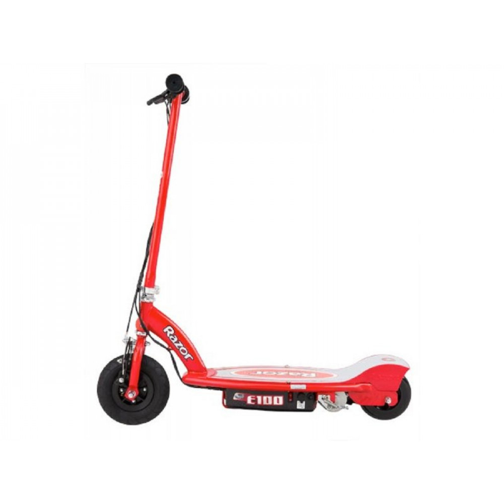 RAZOR Power Core E100 Electric Scooter - Red (Aluminum Deck) 13173888