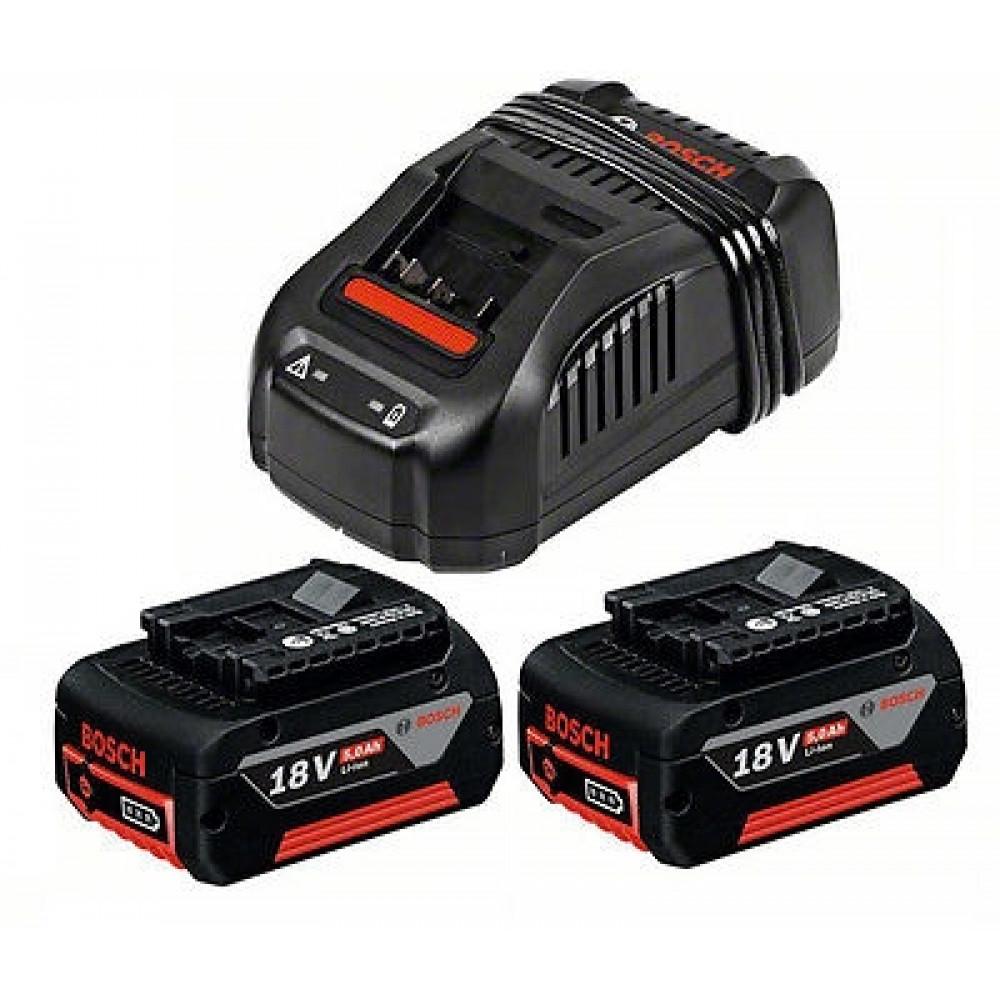 BOSCH početni set 2 x GBA 18 V 5,0 Ah M-C + GAL 1880 CV 1600A00B8J