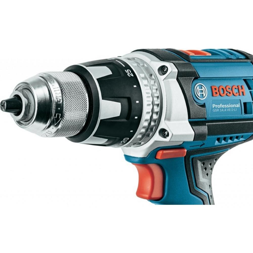 BOSCH akumulatorska bušilica-odvrtač GSR 14,4 VE-2-LI 06019D9000