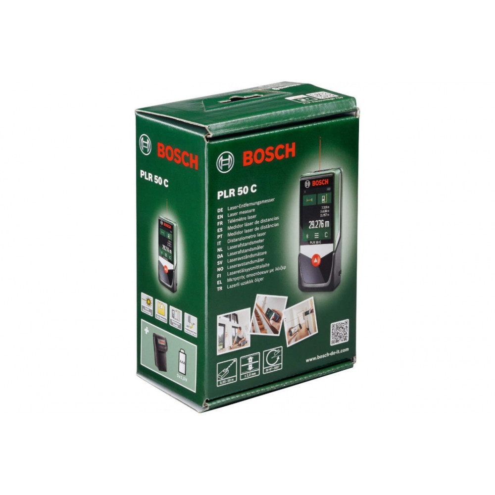 BOSCH laserski daljinomer   PLR 50 C 0603672220