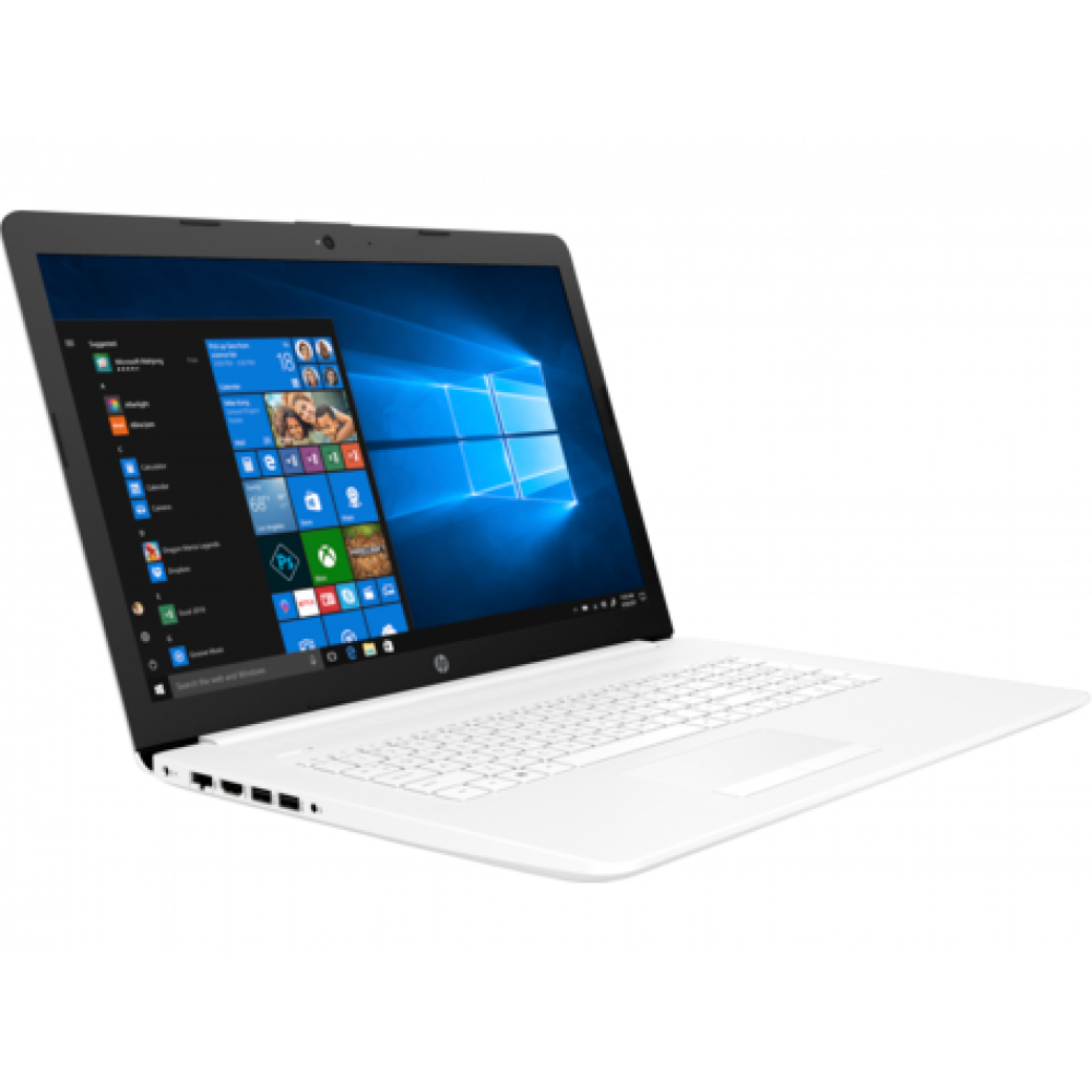 "HP 17-by0011nm Celeron N4000/17.3""HD+ AG/4GB/128GB SSD/UHD 600/DVD/Win 10 Home/White 4RN65EA"