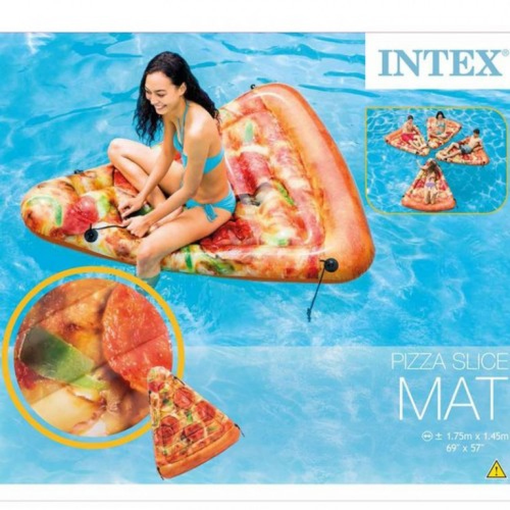 INTEX Dušek na naduvavanje Pizza Slice 58752