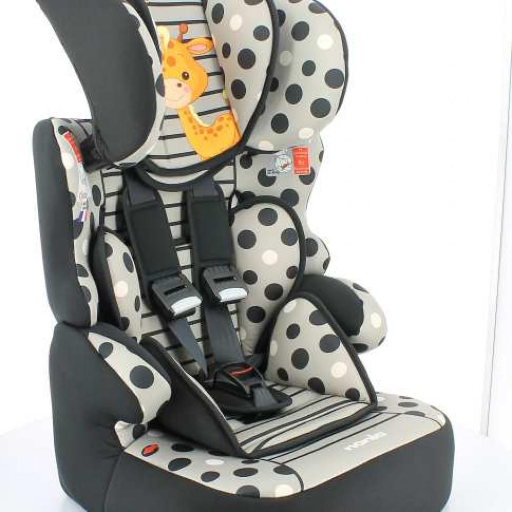 NANIA auto sedište beline girafe 295026