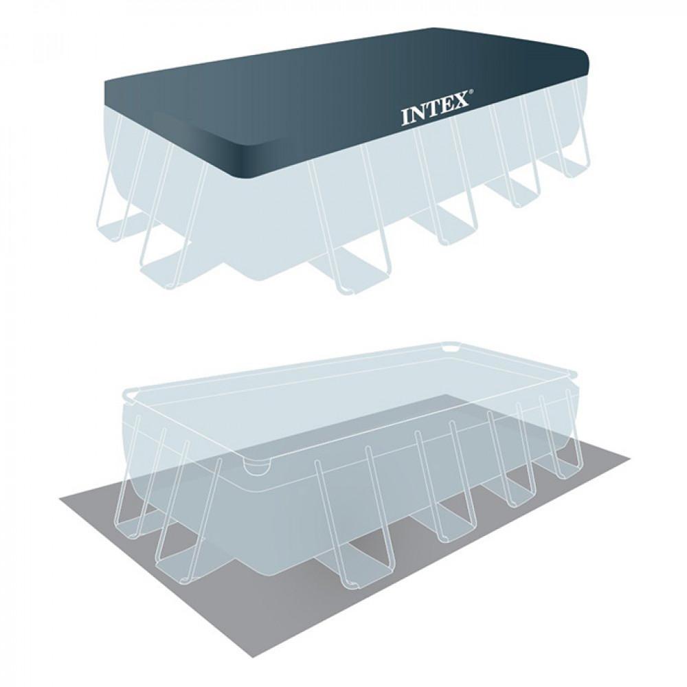 INTEX porodični bazen metalni okvir 4.88 x 2.44 x 1.07 Prism frame 26792