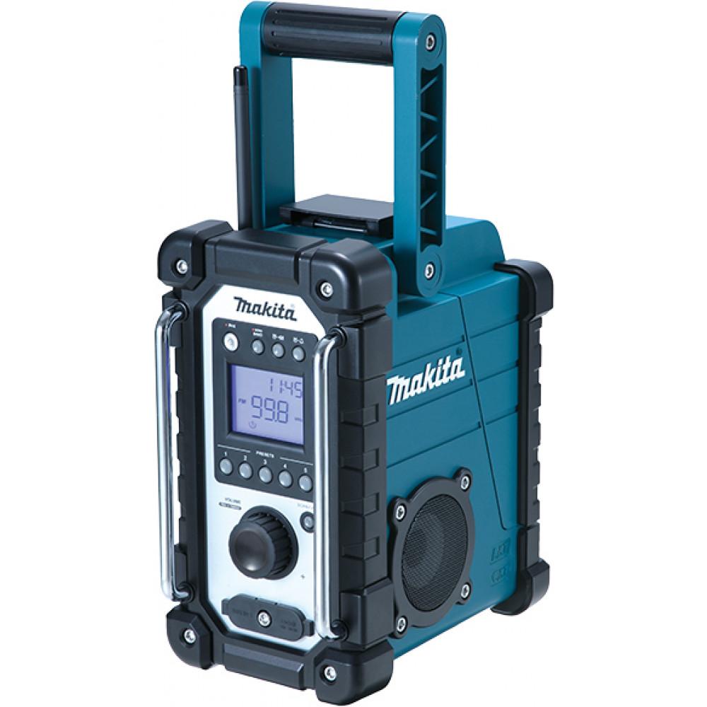 MAKITA akumulatorski RADIO AKU Li-ion;7,4-18v;napajanje AC/DC DMR107