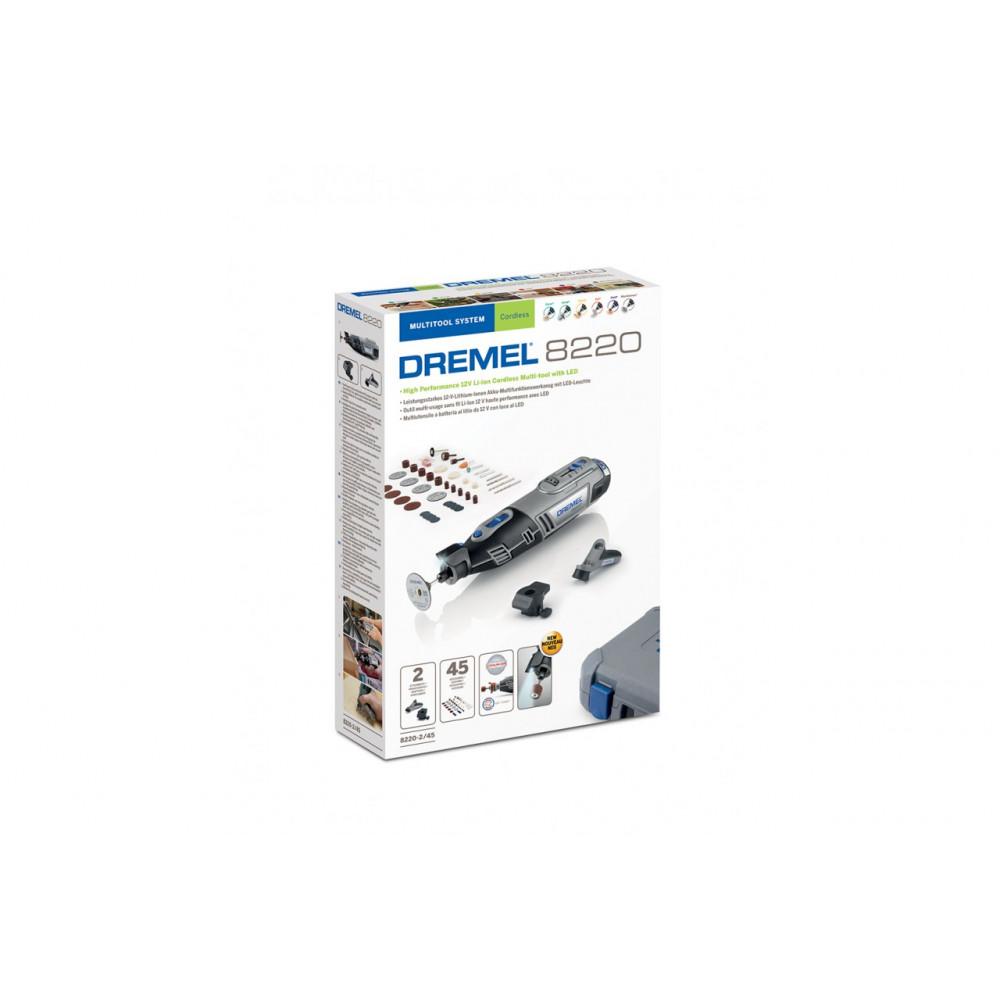 DREMEL 8220 2/45 akumulatorski višenamenski alat sa 45 komada dodatnog pribora F0138220JH