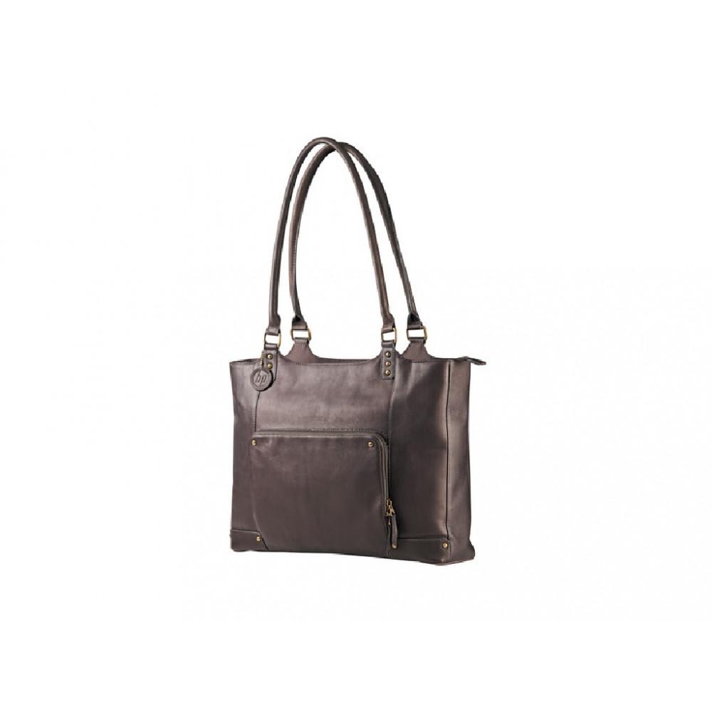 "HP torba za laptop ladies leather 15.6"" case brown f3w12aa"