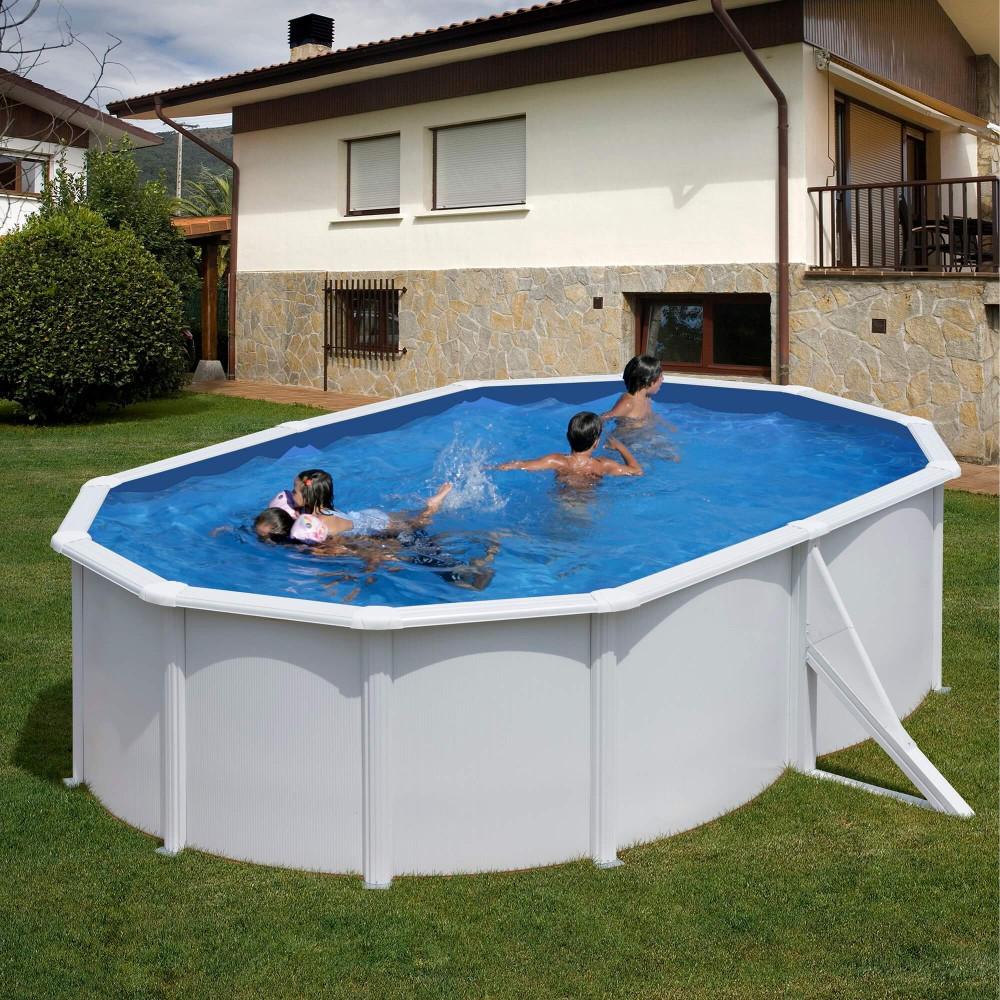 PONTAQUA ovalni porodični bazen  5,0x3,0x1,2m FFA 751