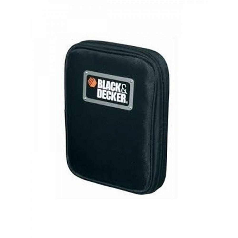 BLACK&DECKER garnitura odvijača i biteva 56 delova u torbici A7104
