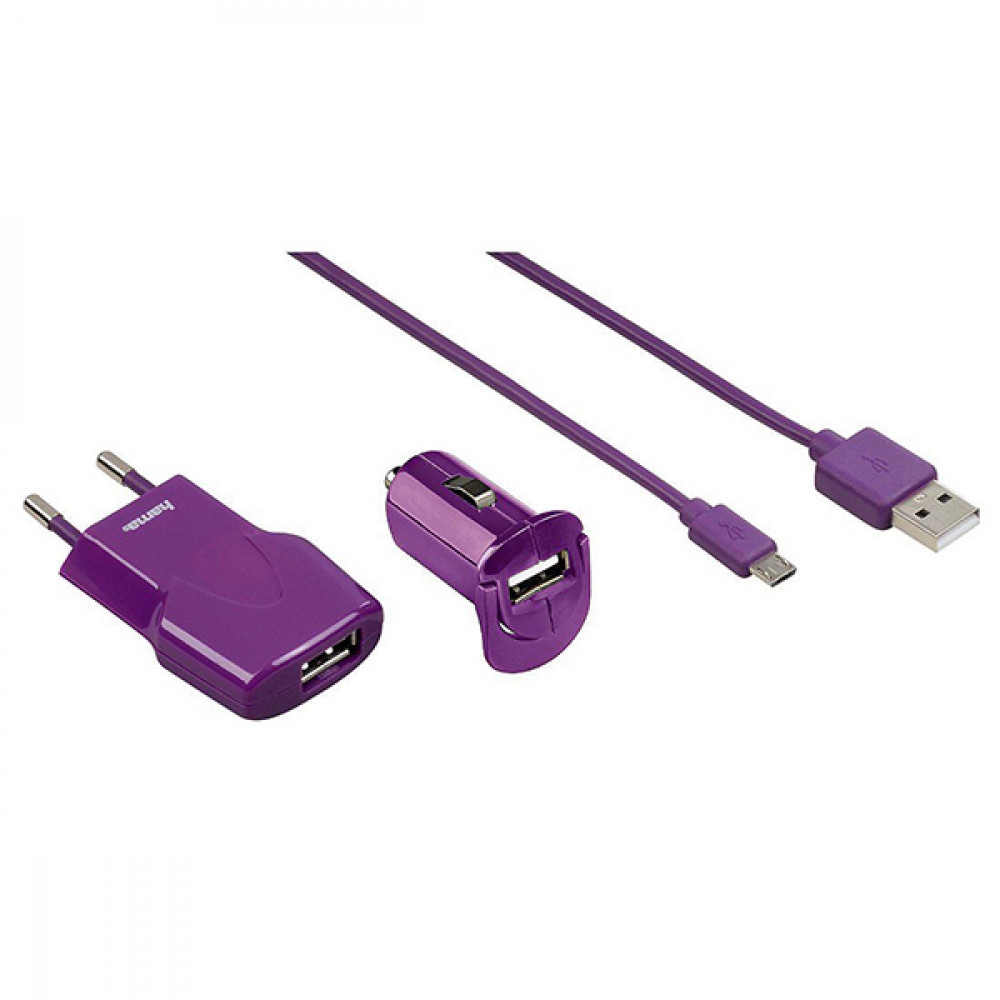 HAMA komplet punjač Micro USB 102008
