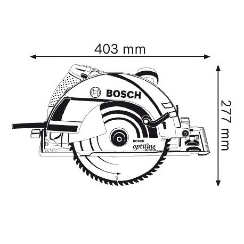 BOSCH kružna testera GKS 235 Turbo (06015A2001)