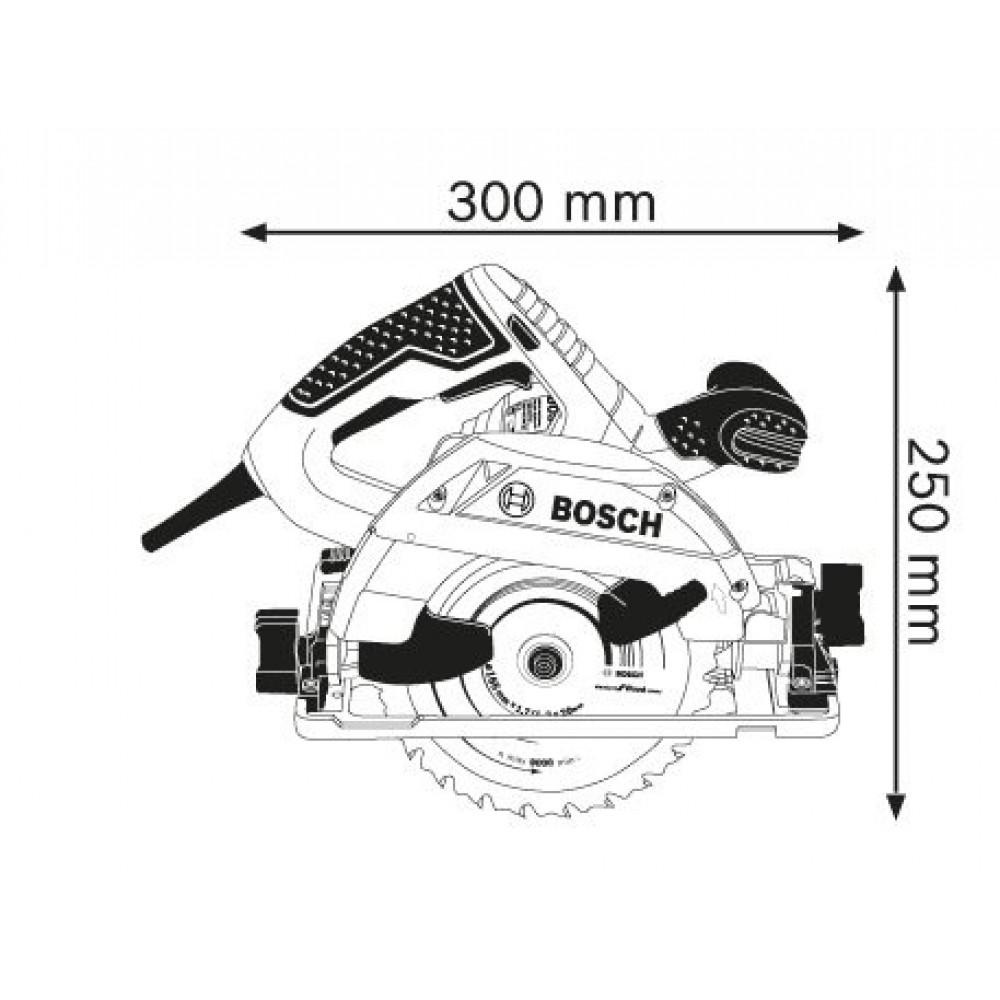 BOSCH kružna testera GKS 55+ GCE (0601682101)