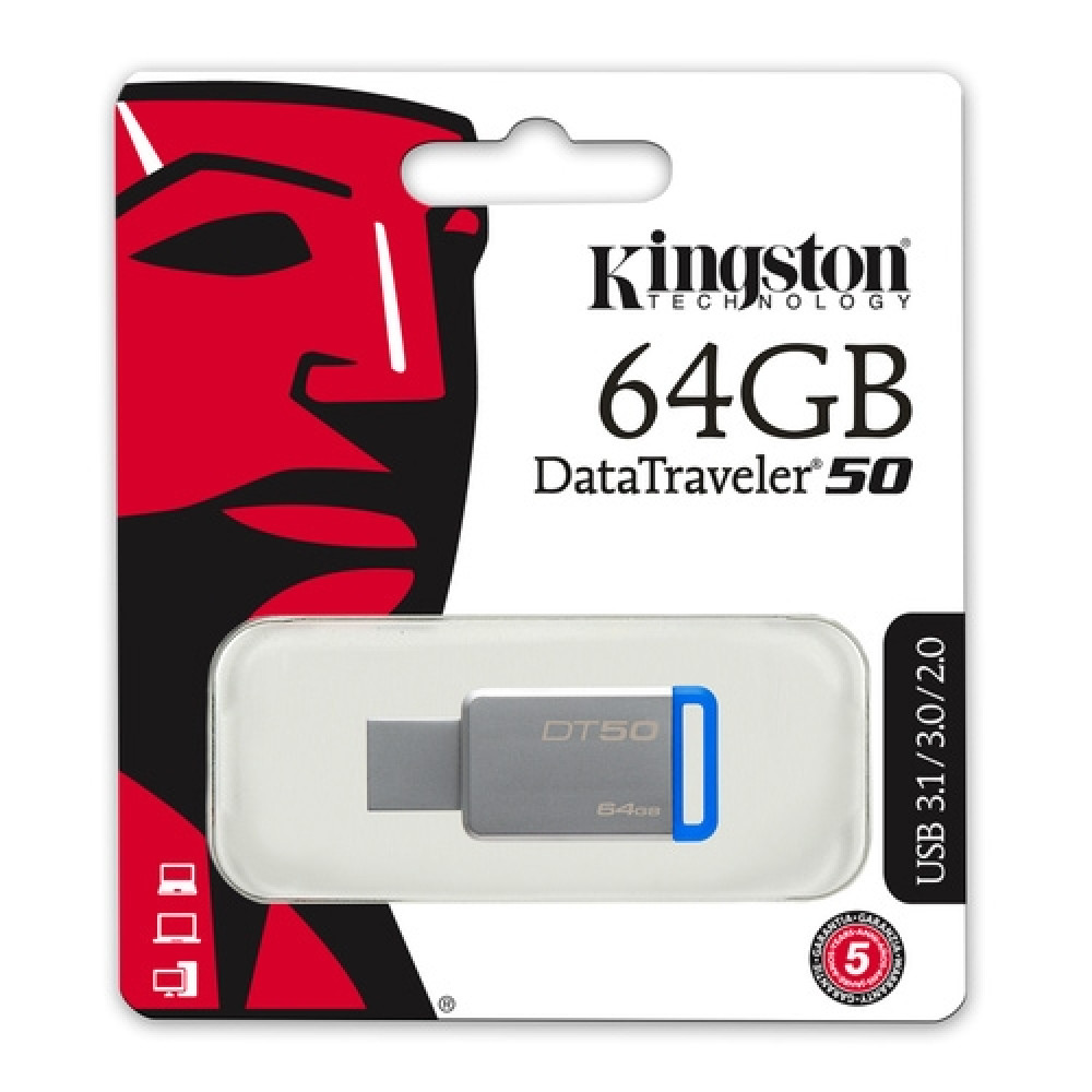KINGSTON fleš 64GB DT50