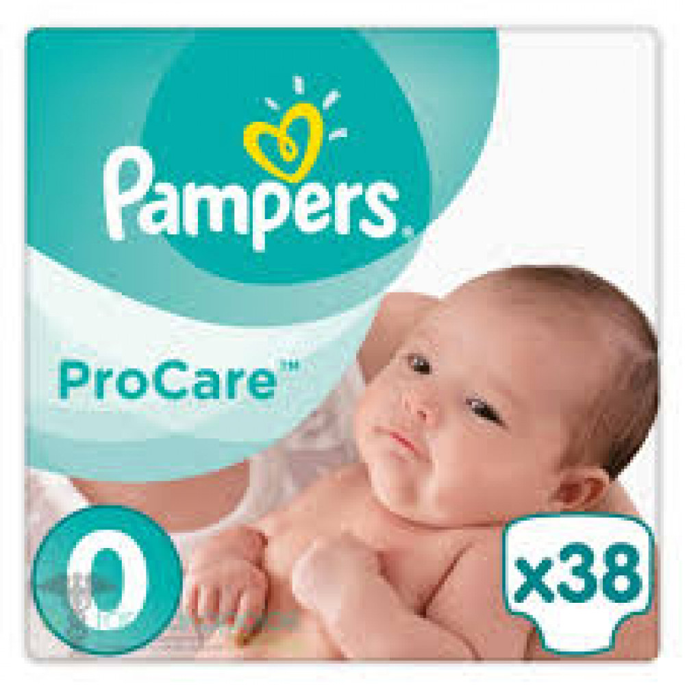 PAMPERS PRO CARE 0 NEW BABY (38)