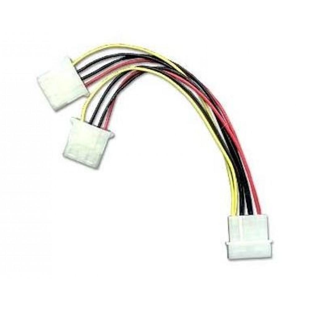 Naponski kabl Y sa molex konektorima 2muški/1ženski