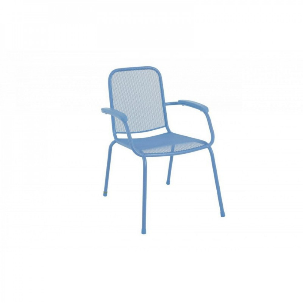 Baštenska metalna stolica Lopo - plava 879418 LOPO 047113