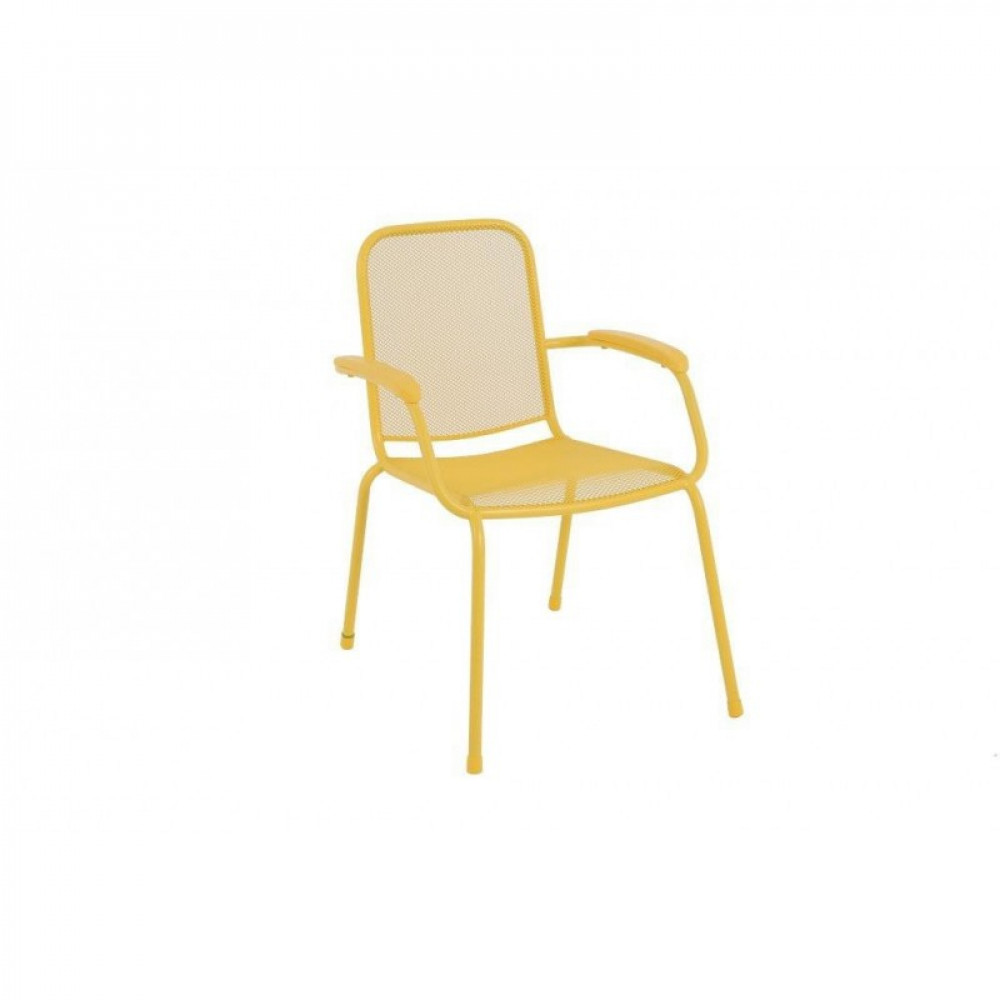Baštenska metalna stolica Lopo - žuta 879424 LOPO 047119