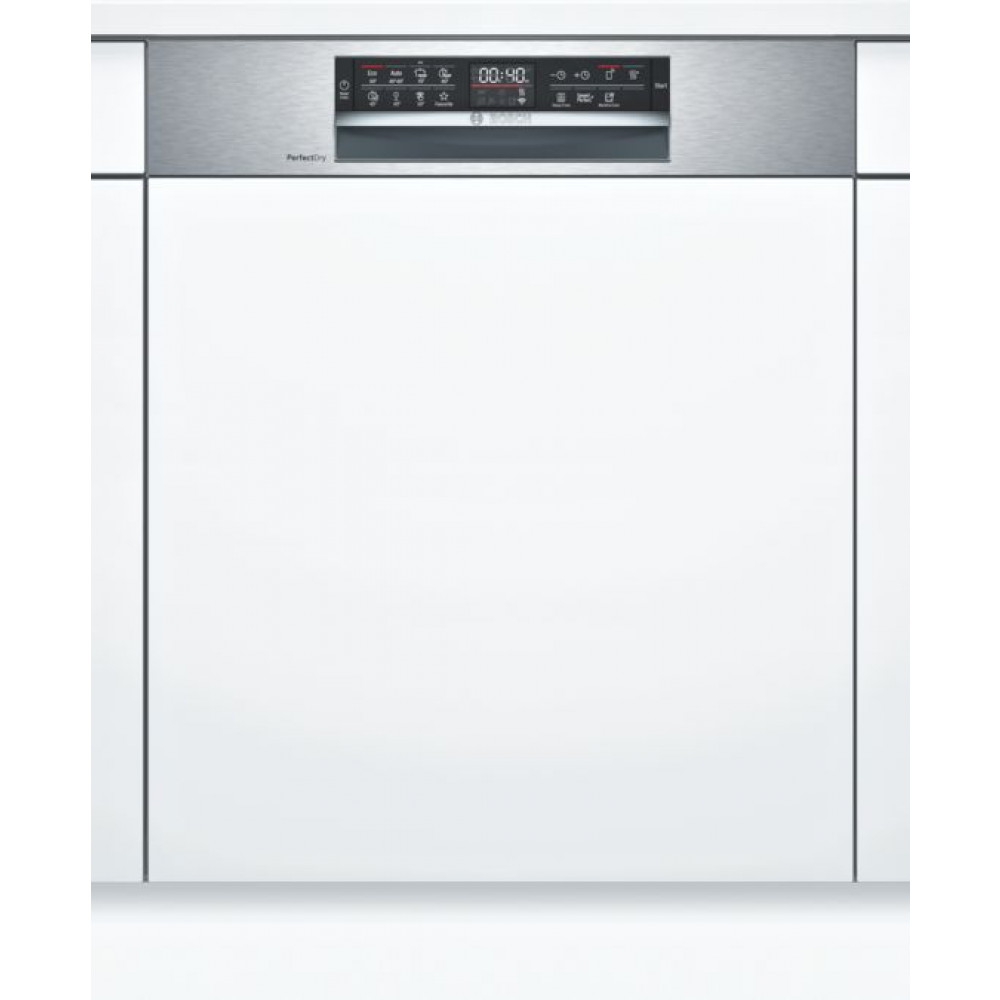 BOSCH Ugradna mašina za pranje sudova, 60 cm, Stainless steel SMI6ZDS49E