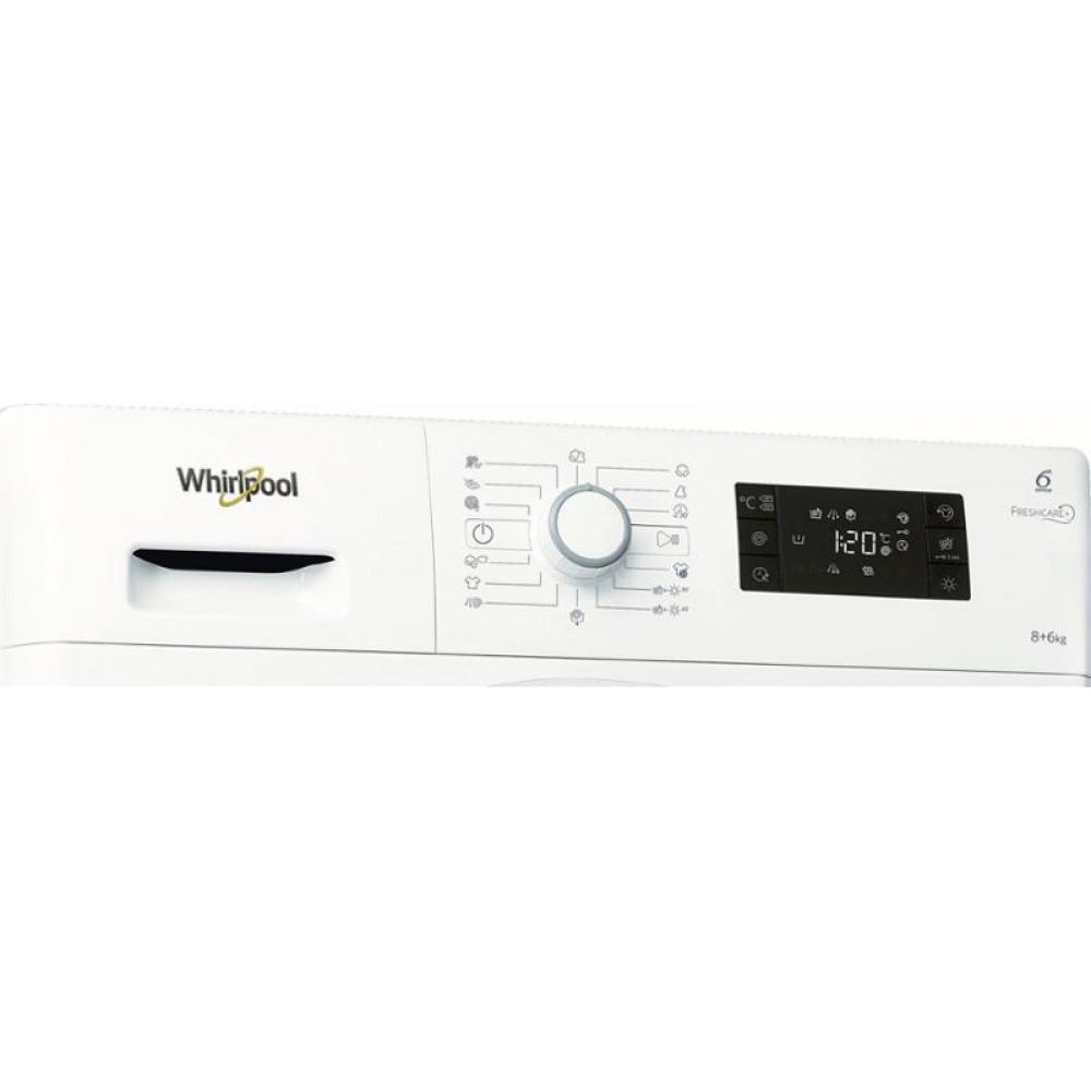 WHIRLPOOL mašina za pranje i sušenje veša FWDG86148W EU